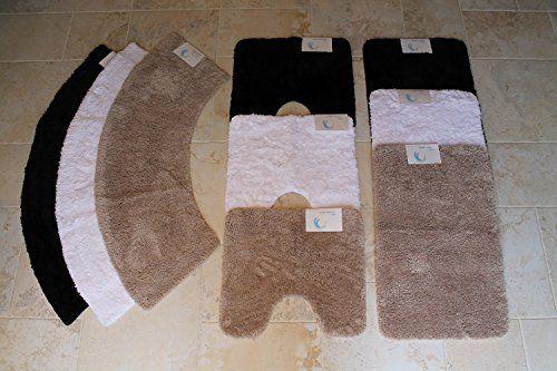Cazsplash Luxury Quadrant Stone Colour Curved Shower Mat (Large): Amazon.co.uk: Kitchen & Home