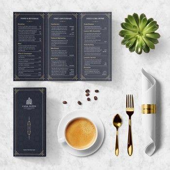 Best  Restaurant Brochure Ideas On   Pacific Asia