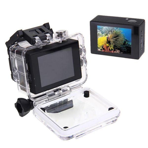 Tekcam F60R Sensor SONY IMX179 4K 2.0inch 170 HD Wide-angle Lens Wifi Sport DV with Accessories