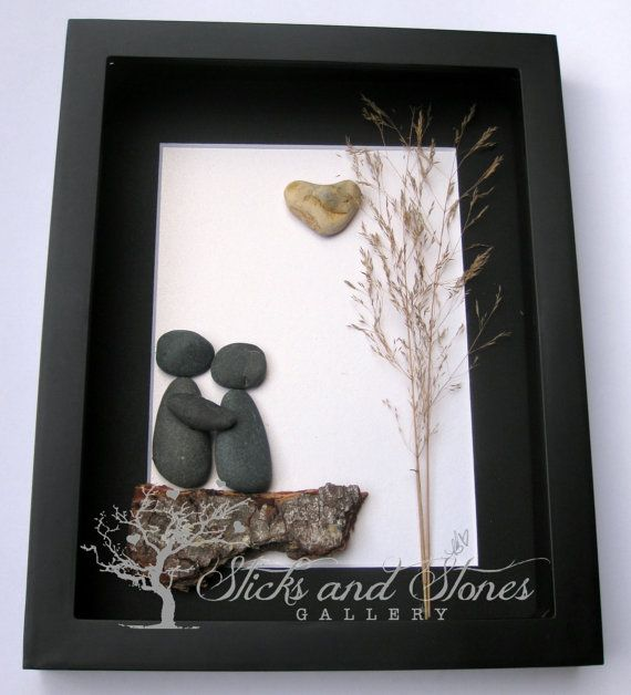 Couple's Christmas Gift  Christmas for Couple by SticksnStone