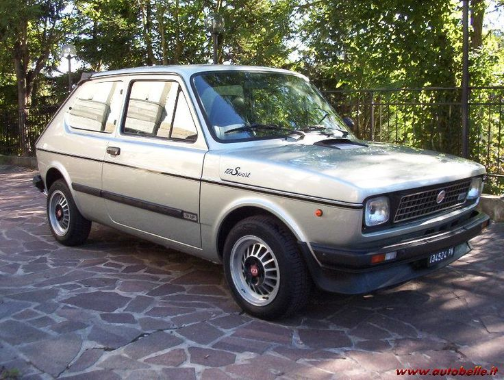 94 best fiat 127 images on pinterest fiat abarth antique cars and cars. Black Bedroom Furniture Sets. Home Design Ideas