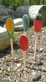 Garden Craft Ideas garden craft ideas hgtv Kids Garden Activities Garden Markers