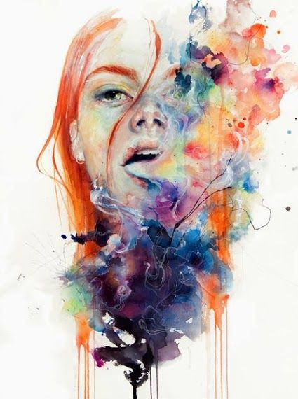 Agnes Cecile, she does the best youtube videos of her working, LOVE HER