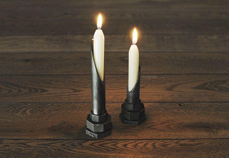 Лофт подсвечник. Дизайнерский декор. Лофт декор. Необычные подсвечники. Loft candleholder.