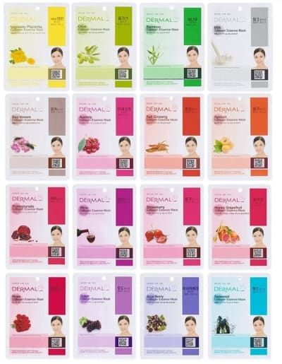 """Promising review: """"I didn't think too much of these masks since they were so cheap. But they are amazing. There are no repeat masks, and they left my skin very soft and moisturized! I also shared with a couple friends who love them as well. They are great for quick and easy spa days."""" —JeneaGet a 16-pack from Amazon for $11.20."""