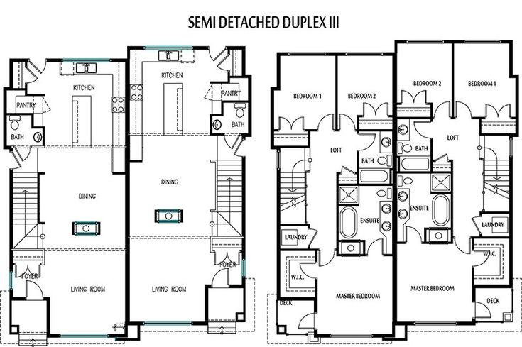 Best 25 semi detached ideas on pinterest kitchen for Semi detached garage plans
