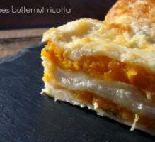 Recette - Lasagnes butternut / ricotta - Proposée par 750 grammes