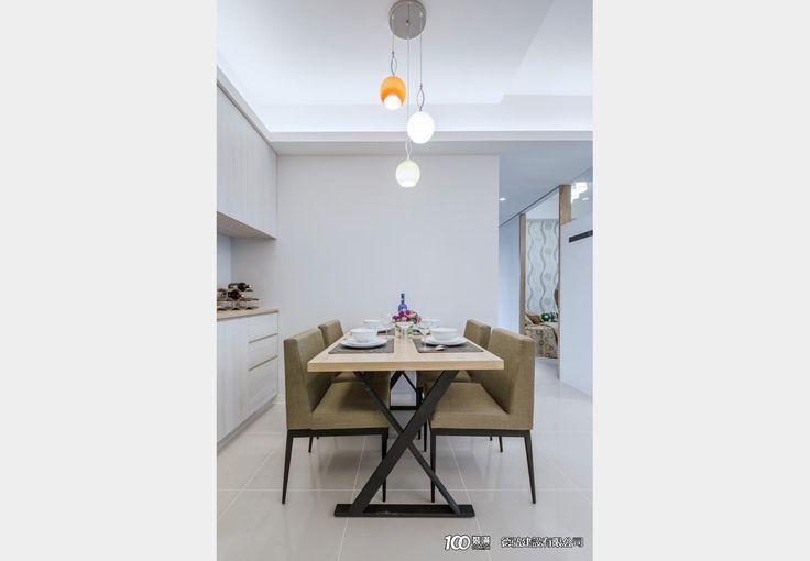 南方沐林_現代風設計個案—100裝潢網
