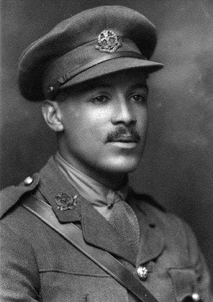 Second Lieutenant Walter Tull was the first black British Army officer; served in WWI