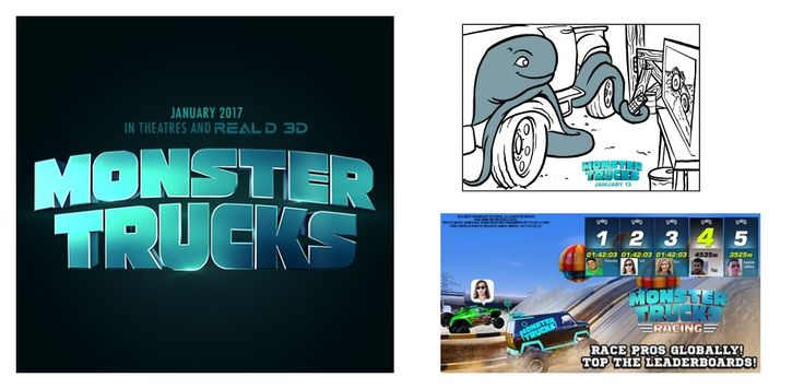 MONSTER TRUCKS- New Clips, Games and Activities