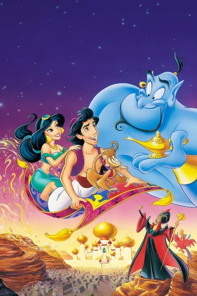 Aladdin Background | iPhone wallpapers | Pinterest | ディズニー ...
