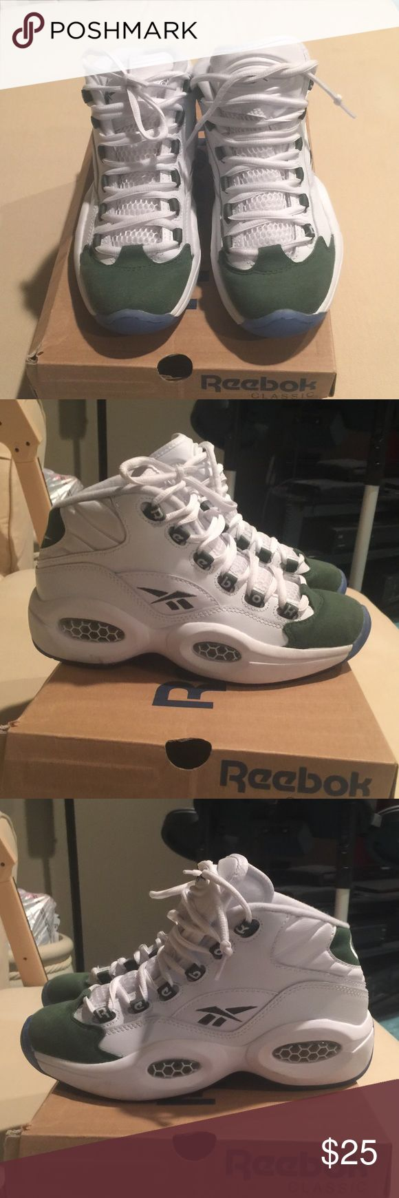 Reebok Alan Iverson Size 4youth Reebok Alan Iverson (Question Mid) Size 4youth. Very good condition Reebok Shoes Sneakers