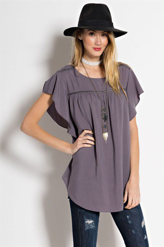 Purple peasant top. This is just a great top!  I love purple! https://www.facebook.com/kleeboutique/