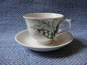AX-mallin kahvikuppi Kielo | Arabian vanhat astiat - Wanhat Kupit verkkokauppa  Coffee cup Lily of the valley - Arabia, Finland