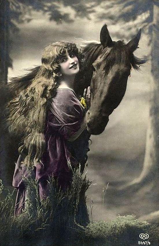 owen1141952 — «Девушка и лошадь.» на Яндекс.Фотках