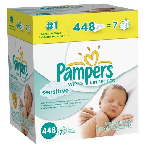 Pampers Sensitive Wipes 7x Box 448 Count | Multi City Health  List Price: $15.23 Discount: $9.24 Sale Price: $5.99