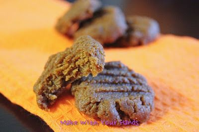 Make with your hands: Paleo Pumpkin Cookies {Grain-Free}