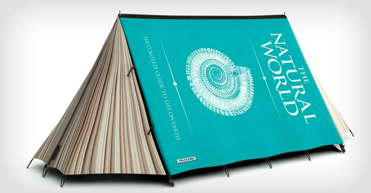 Cool camping tent for my bookworm girls!Book Lovers, Book Tents, Fun Recipe, Fully Book, Cool Tents, Camps, Good Book, Products, Design