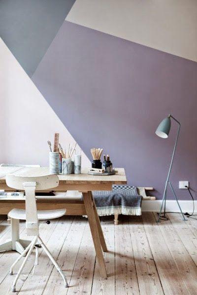 Pintar paredes de forma creativa   Decorar tu casa es facilisimo.com