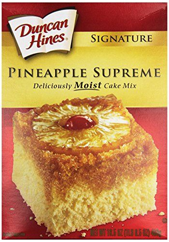 Duncan Hines Signature Cake Mix Pineapple Supreme 165 oz *** Check this awesome product by going to the link at the image.(This is an Amazon affiliate link and I receive a commission for the sales) #BakingMixes
