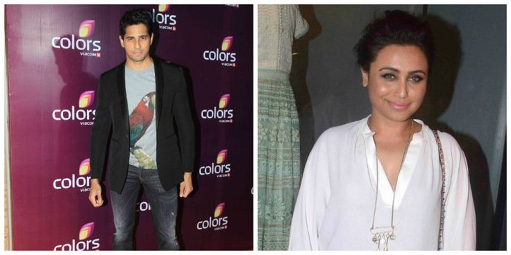 Are Sidharth Malhotra, Rani Mukerji doing a movie together? The actor clarifies