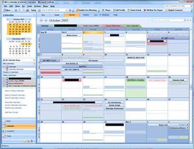 Outlook email inbox decluttering