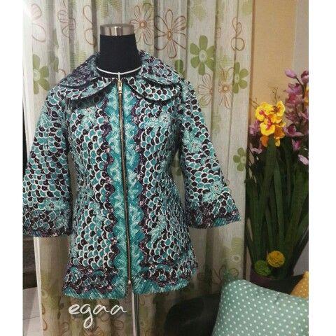 Modifikasi sobek dan opnesel batik lawasan