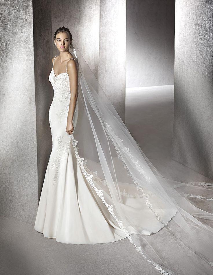 zabel- νυφικό με ζορζέτα μεταξωτή  κεντημένο με κιπουρ δαντέλα  #weddingdress #wedding #weddingday
