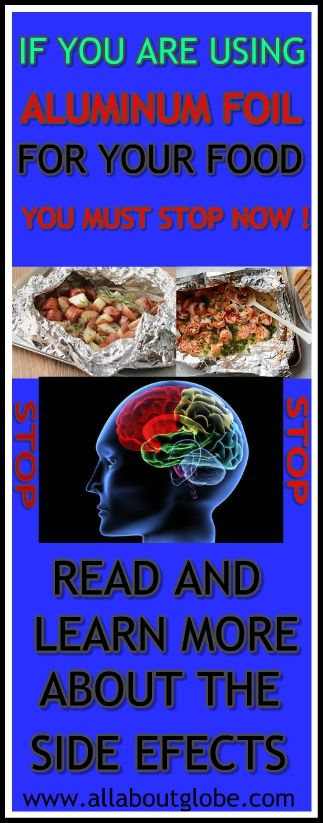 STOP USING ALUMINUM FOIL ! #FoodPoison #AluminumFoil #Health #Disease