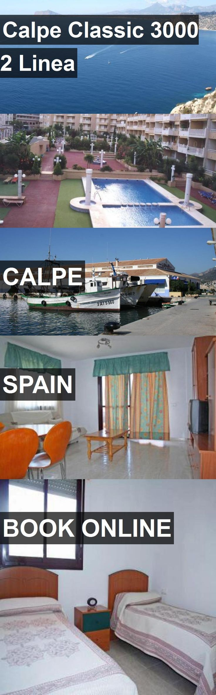 Hotel Calpe Classic 3000 2 Linea in Calpe, Spain. For more information, photos, reviews and best prices please follow the link. #Spain #Calpe #travel #vacation #hotel
