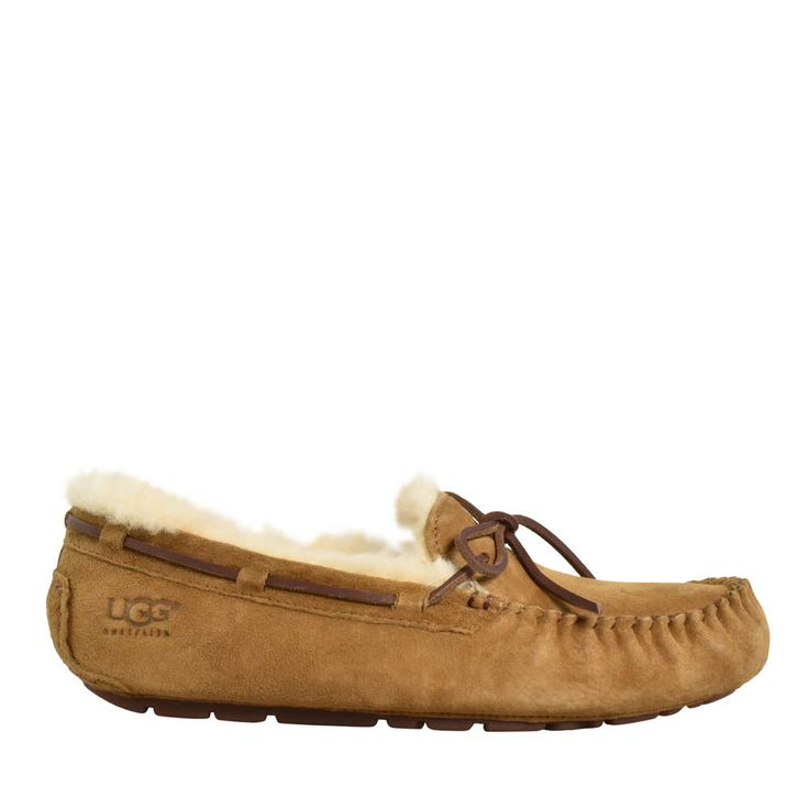 Dakota Slip On Mocc Slipper Chestnut
