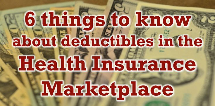 6 things to know about deductibles in the Health Insurance Marketplace: 1) Having health insurance can lower your costs even when you have meet your deductible. 2) A health insurance deductible is different from other insurance deductibles. 3) All Marketplace plans cover preventive care. 4) In 2014, there's a $6,350 individual max & $12,700 for family out-of-pocket costs for in-network services. 5) Over 70% of Marketplace plans have deductibles under $3,000. 6) Silver plans can save you…