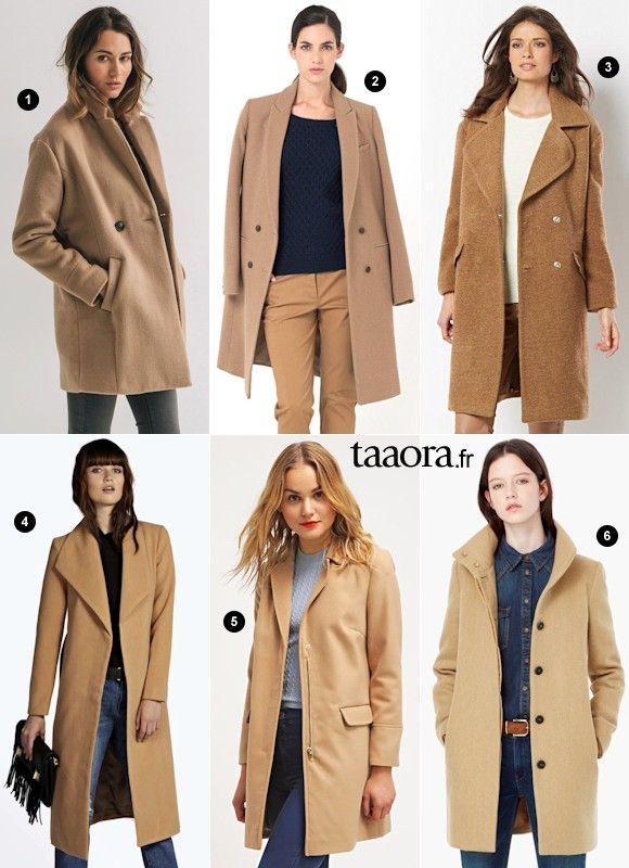 c81b456e30f Le manteau camel est un incontournable de l automne-hiver ! Séance shopping