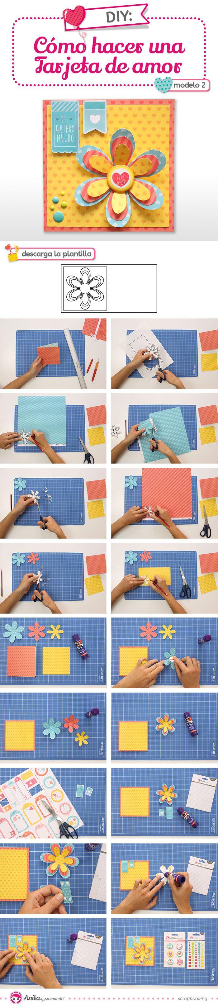 Aprende con este nuevo tutorial de Anita y su mundo cómo hacer 9 originales tarjetas del Día de la Madre de manera fácil y paso a paso.