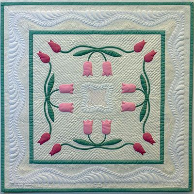 168 best Quilts - Tulip Quilts images on Pinterest Quilting patterns, Tulips and Quilting ideas