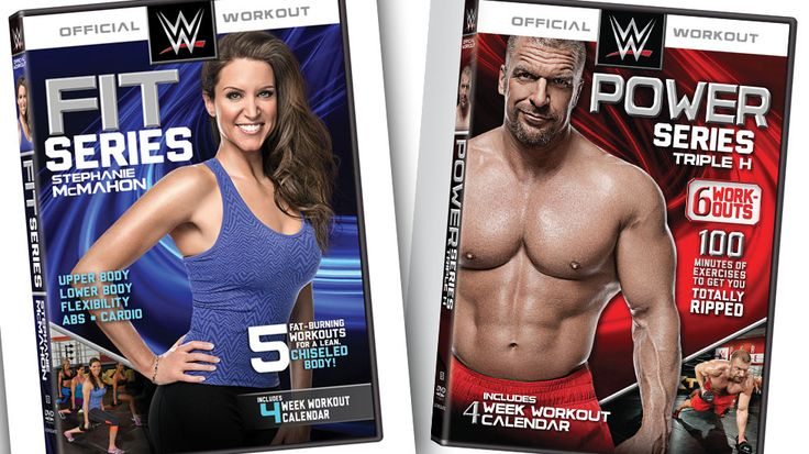 WWE's Triple H & Stephanie McMahon Share Workout Routines In New DVDs