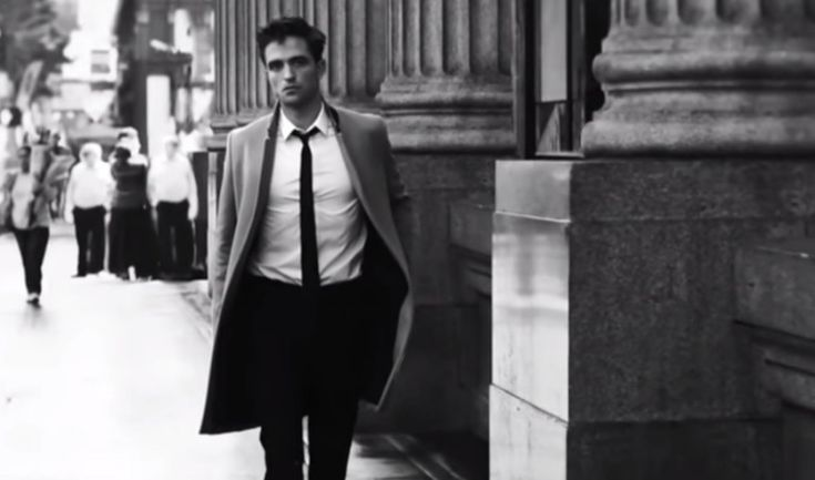 Robert Pattinson Stars in Dior Homme Intense City Fragrance Campaign