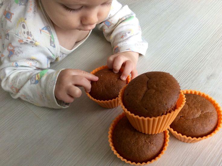 Špaldovo-hrachovo-vlašskoořechové muffiny