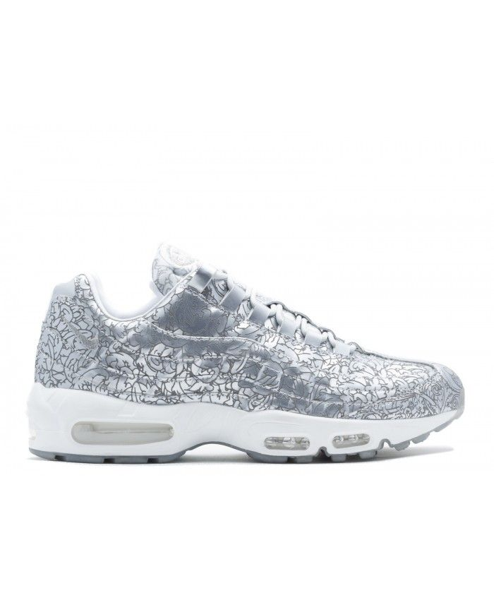 on sale c6200 6a5a4 Air Max 95 Anniversary Qs Pure Platinum, Mtllc Silver-Wht 818721-001