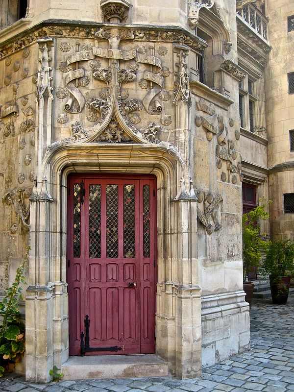 Musée de Cluny (Museum of the Middle Ages) in one of the few medieval buildings left in Paris - also incorporates remnants of the Roman Baths