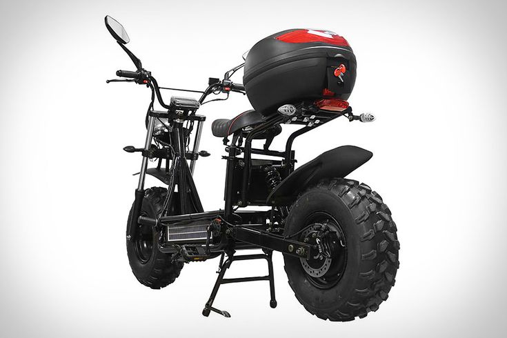 Beast Off-Road Scooter   Uncrate