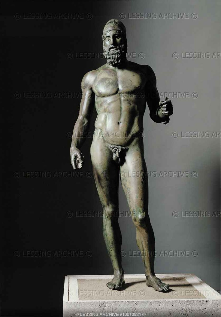 STATUE RIACE GAY
