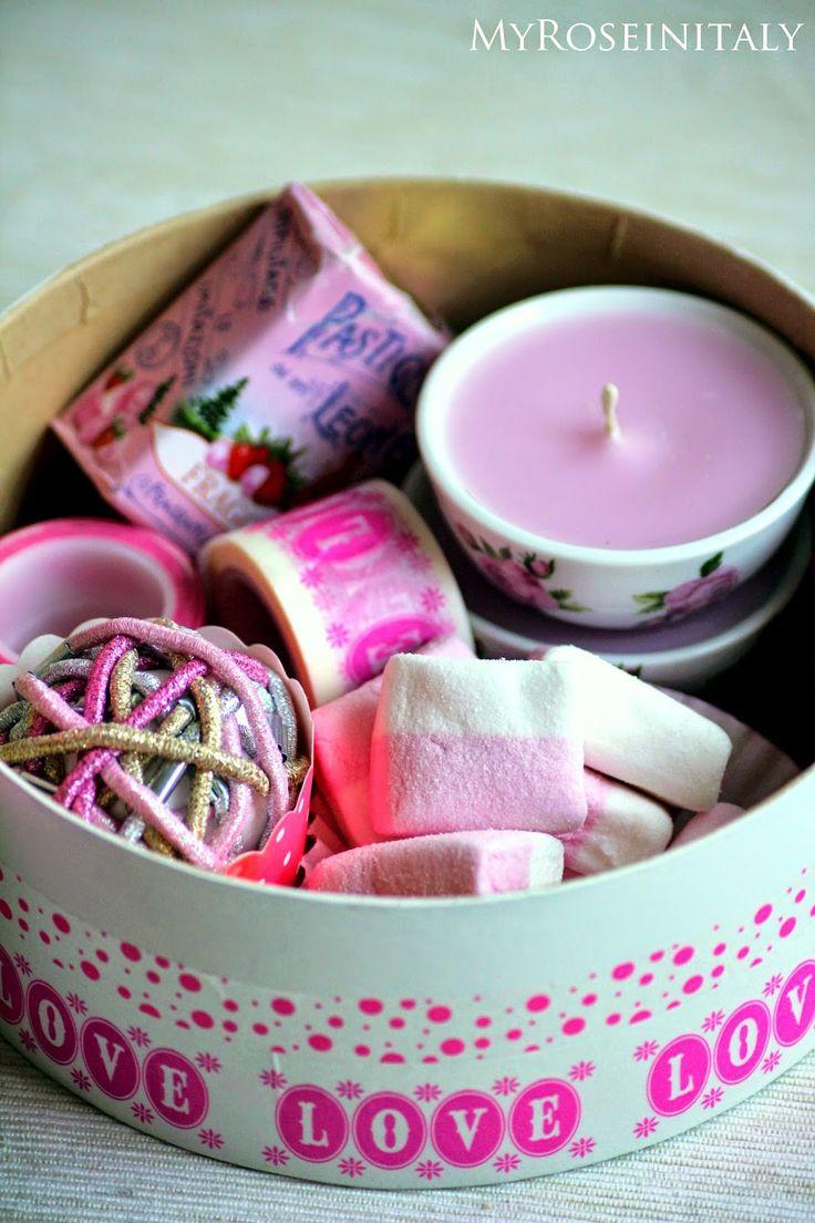 My RoseinItaly: Scatola regalo per.... qualcuno a cui si vuol bene