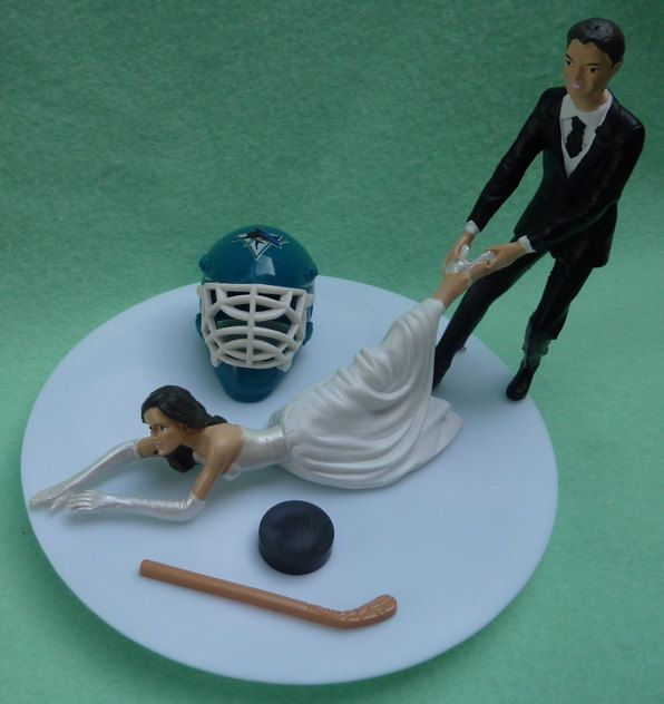 wedding cake topper san jose 17 best ideas about hockey themed weddings on 26378