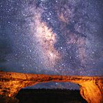 Natural Bridges National Monument, Utah. Some of the darkest skys in the country.