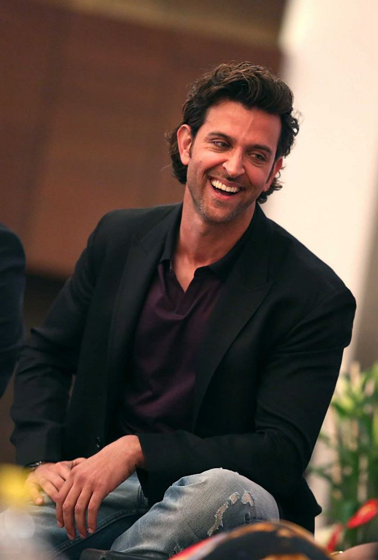 Hrithik Roshan at the launch of a book based on his father Rakesh Roshan. #Style #Bollywood #Fashion #Handsome
