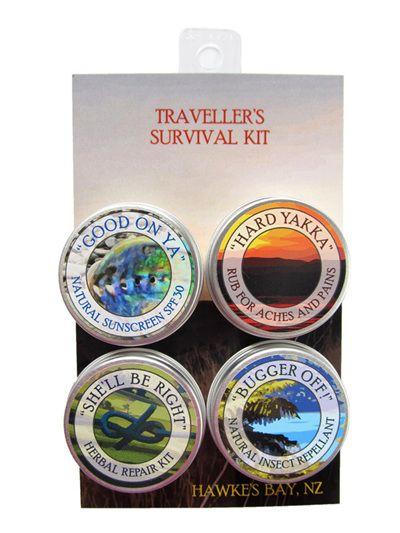 Millstream Balms Traveller's Survival Kit