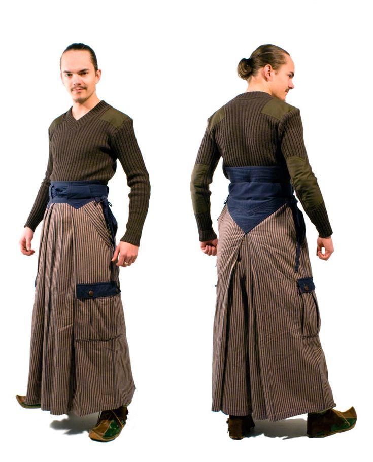 Canvas hakama pants - great Meurlain wear