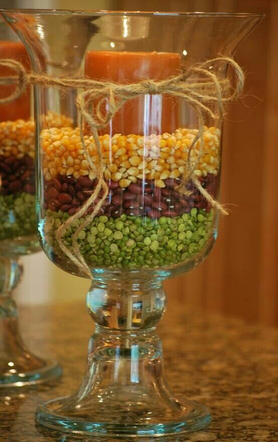 Candle centerpieces