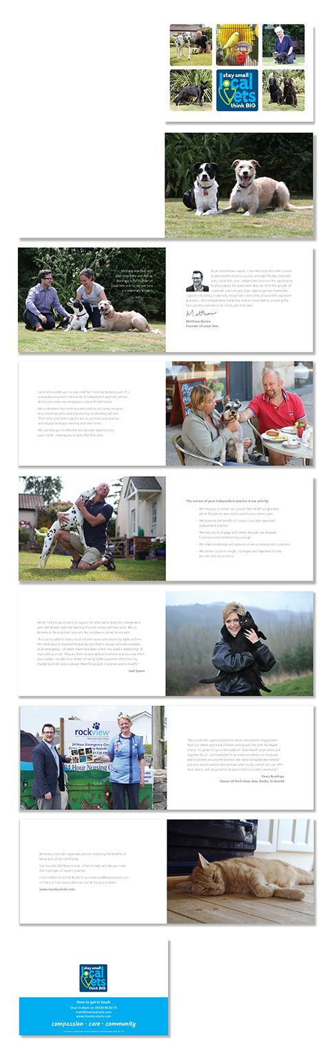 16 page brochure designed for client Local Vets #brochuredesign #graphicdesign